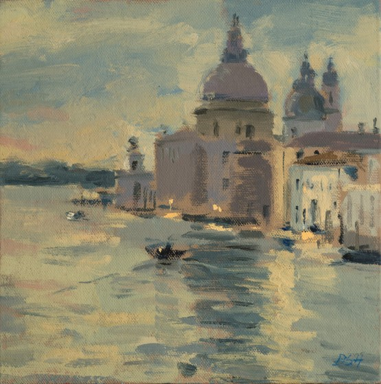 Early Morning Light From The Accademia Bridge