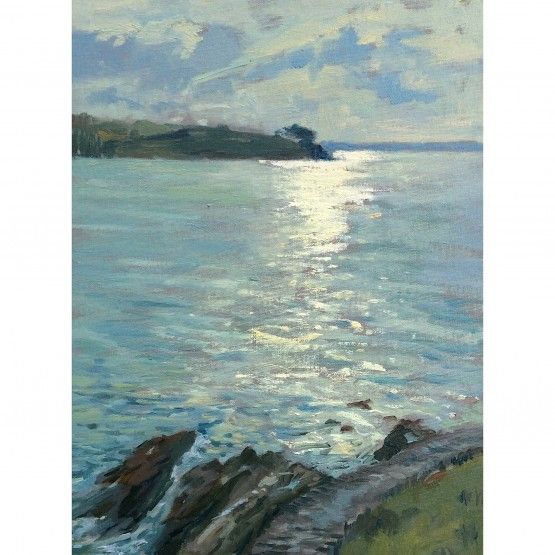 January Light St Mawes
