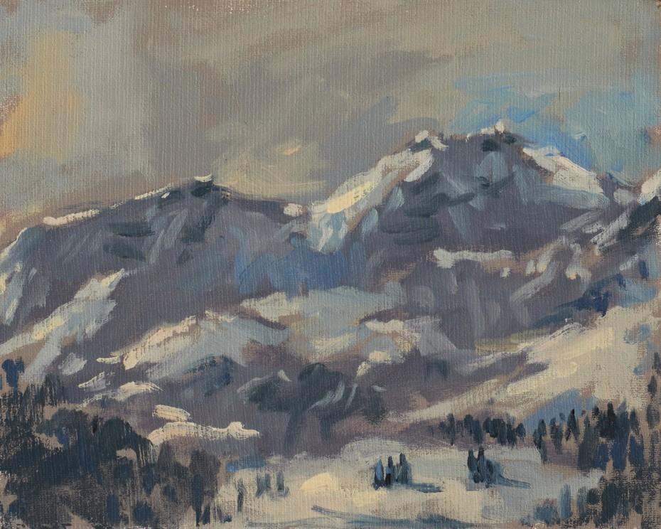 Afternoon Light Jungfrau Mountain