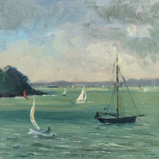 Sail Boats Racing St Mawes