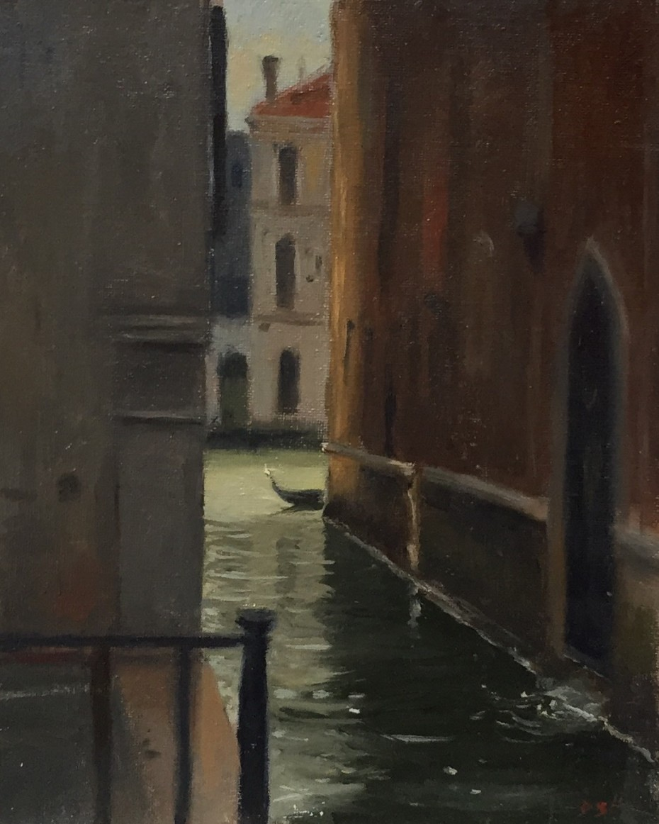 Canal by Palazzo Barbaro