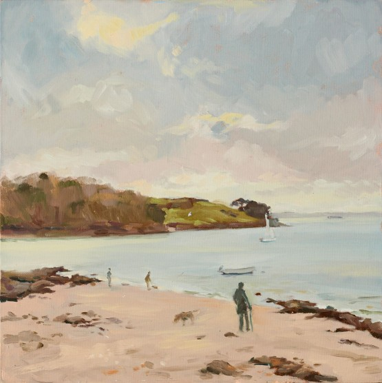 Walking on the Beach St Mawes