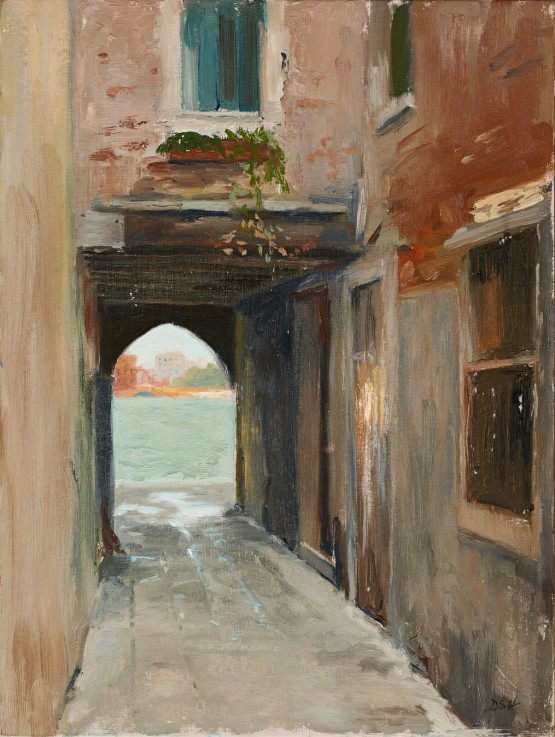 Light at The End of an Alleyway on The Giudecca