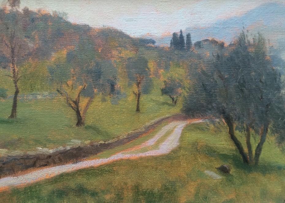 Drive to Mary's House, Panzano