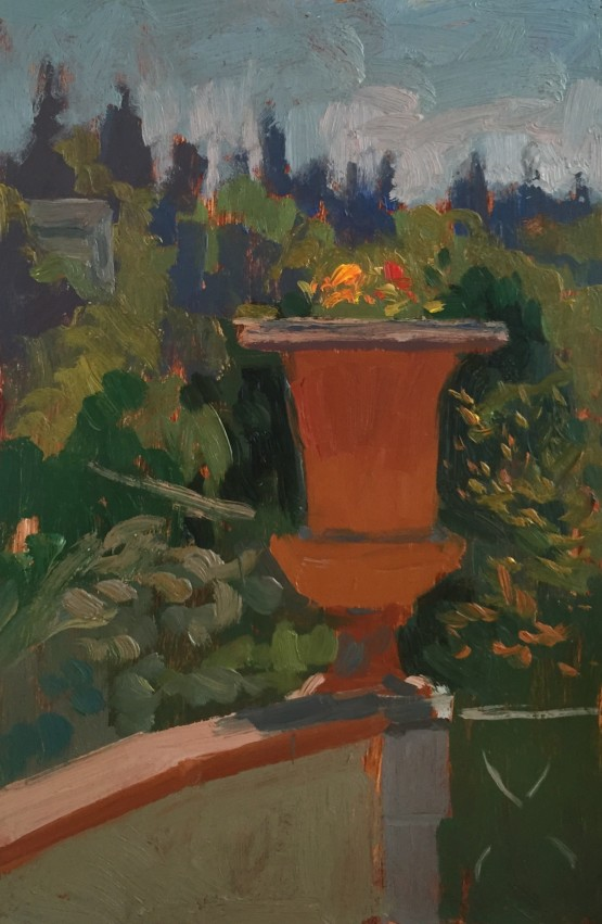 Morning Light on the Flower Pot and the Boboli Gardens Beyond