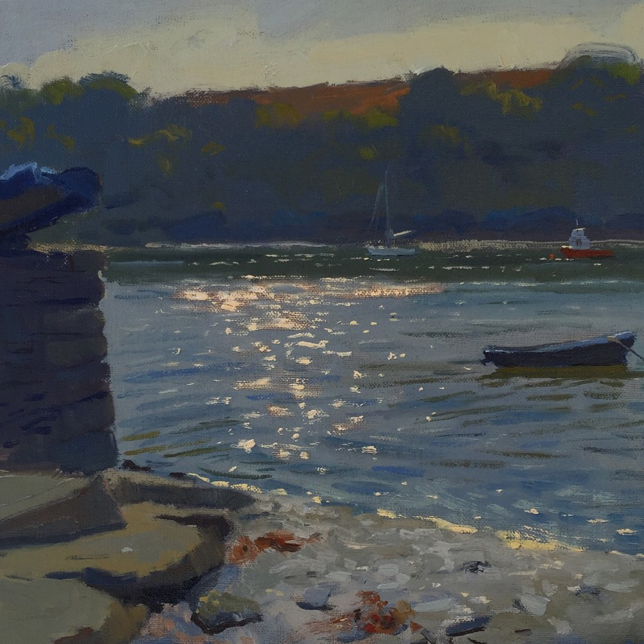 Early Light by be Percule River, St Mawes