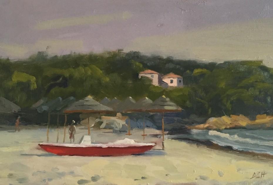 Boat on the Beach, Sardinia