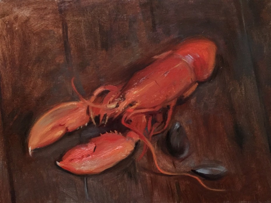 A Lobster and some Mussels