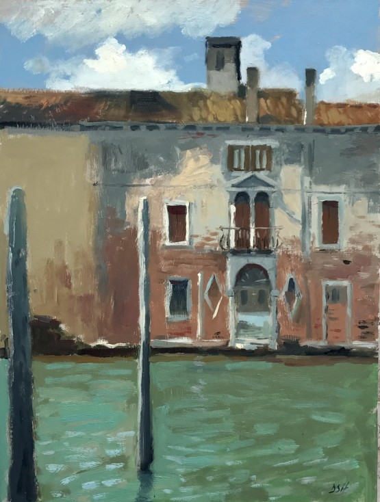 Afternoon light, Palazzo on the Giudecca