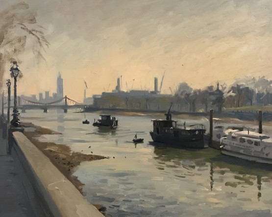Early Light, Chelsea Embankment