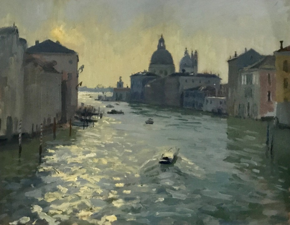 Easter morning light, Ponte dell'Accademia