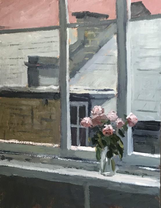 Sunday afternoon Studio windowsill