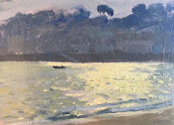 Summer Light reflecting off the sea, St Mawes