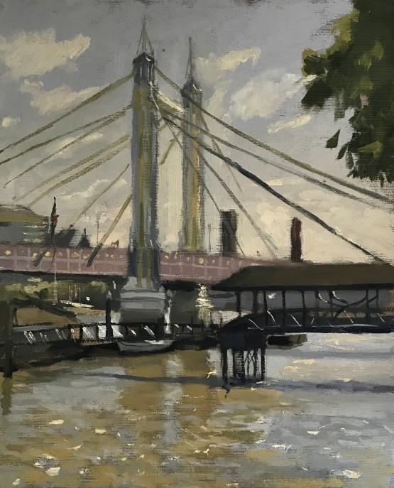Evening Light Albert Bridge