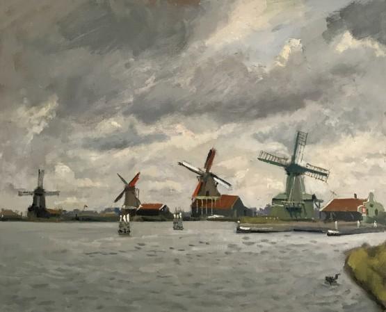 Windmills at Zaanse Schanas