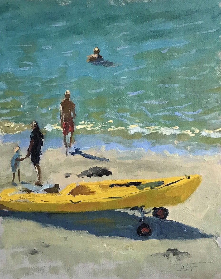 Beach Study in St Mawes