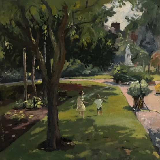 Summer Afternoon in Physic Gardens