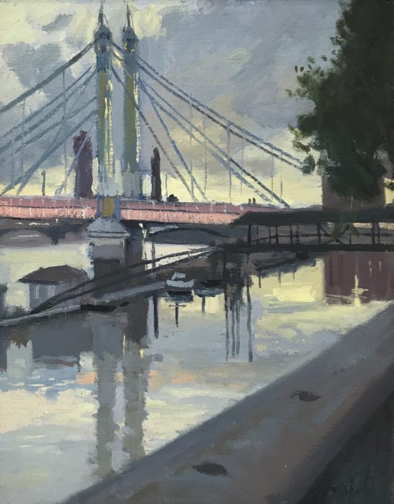 Evening light by the Albert Bridge