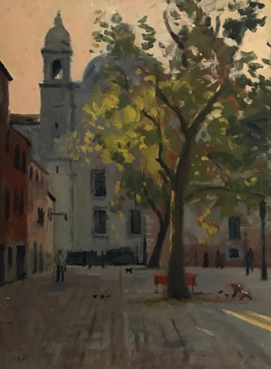 Evening light, Campo Sant'Agnese