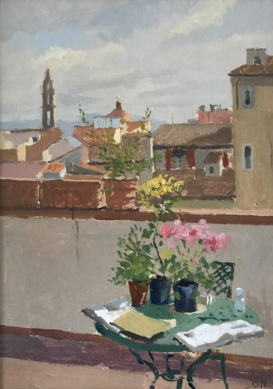 Morning light from a Florentine Terrace