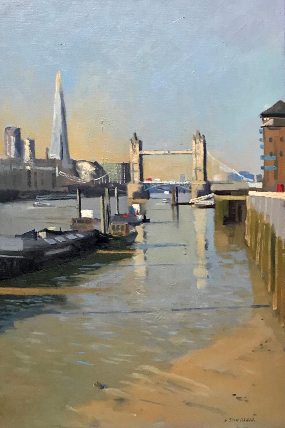 Early morning Light by Tower Bridge