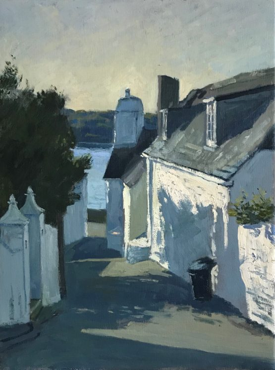 Early Morning Light above St Mawes Church