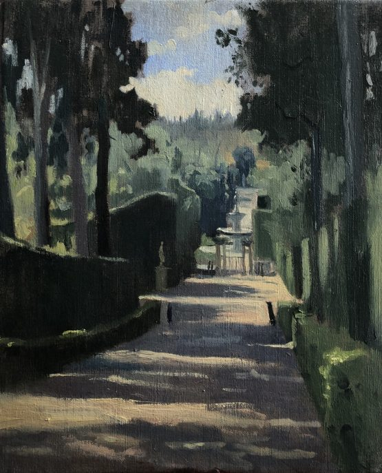 Afternoon light, Boboli Gardens