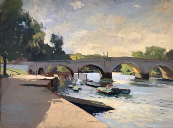 Early light, Richmond Bridge