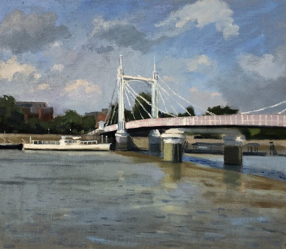Afternoon by the Albert Bridge