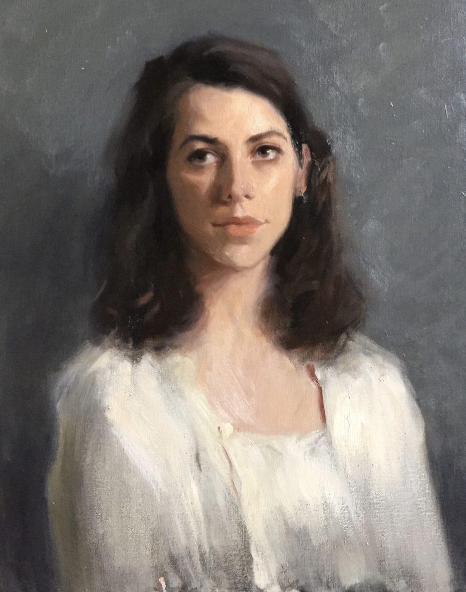 Alessandra in White