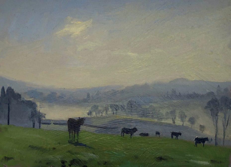Misty Early Light in Dartmoor