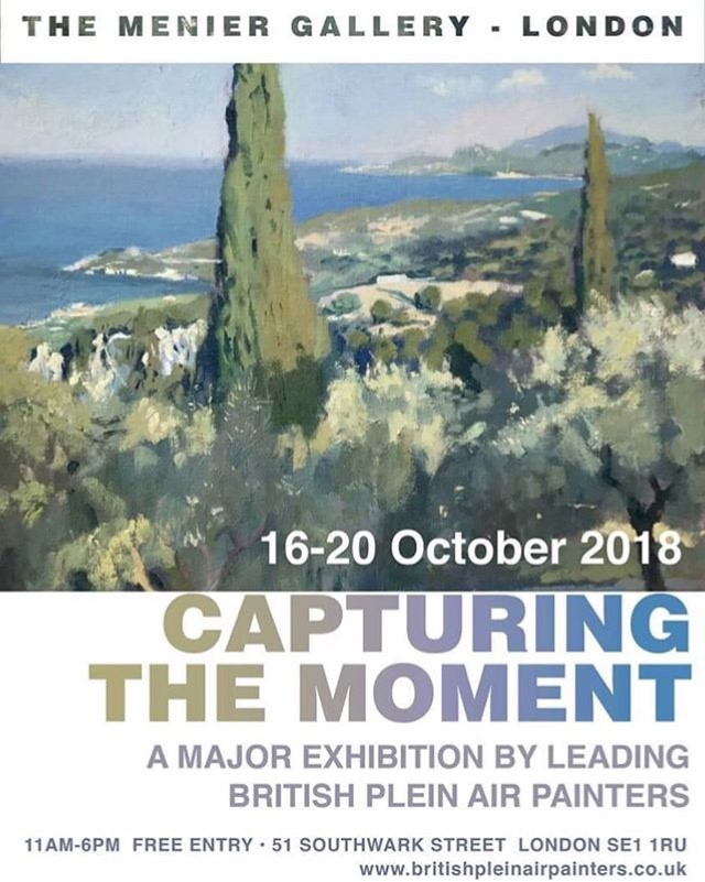 Exhibiting at The Menier Gallery, London 16th - 20th October 2018
