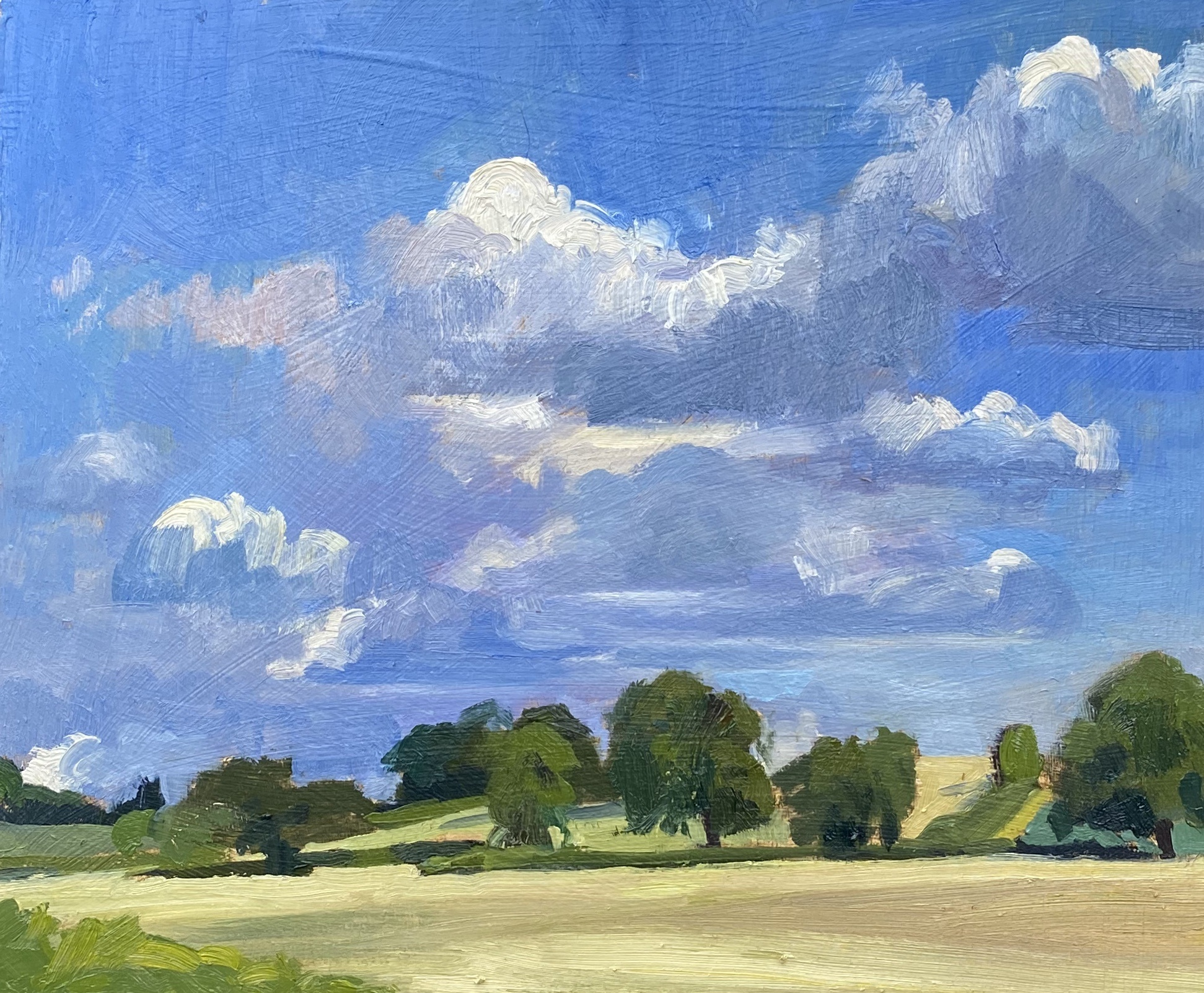 Summer Afternoon Clouds, Hampshire