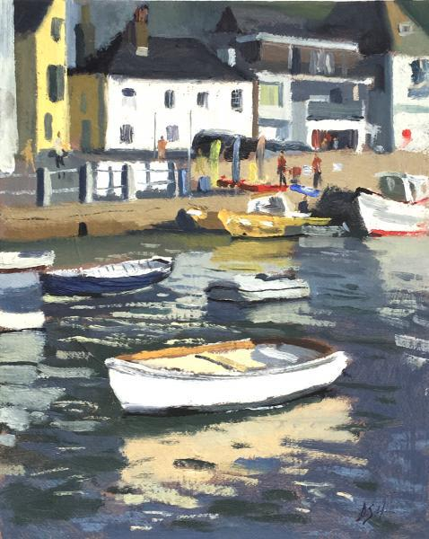 Early Morning Light, St Mawes Harbour
