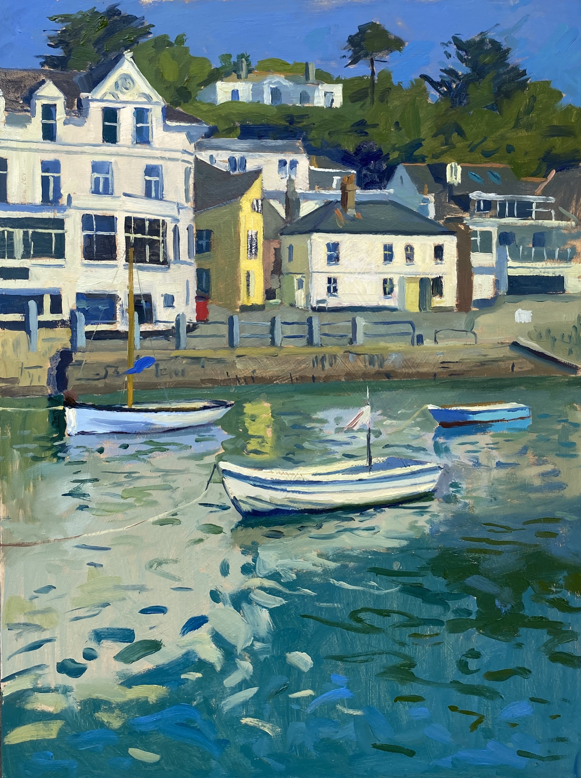 The Yellow house, St Mawes Harbour