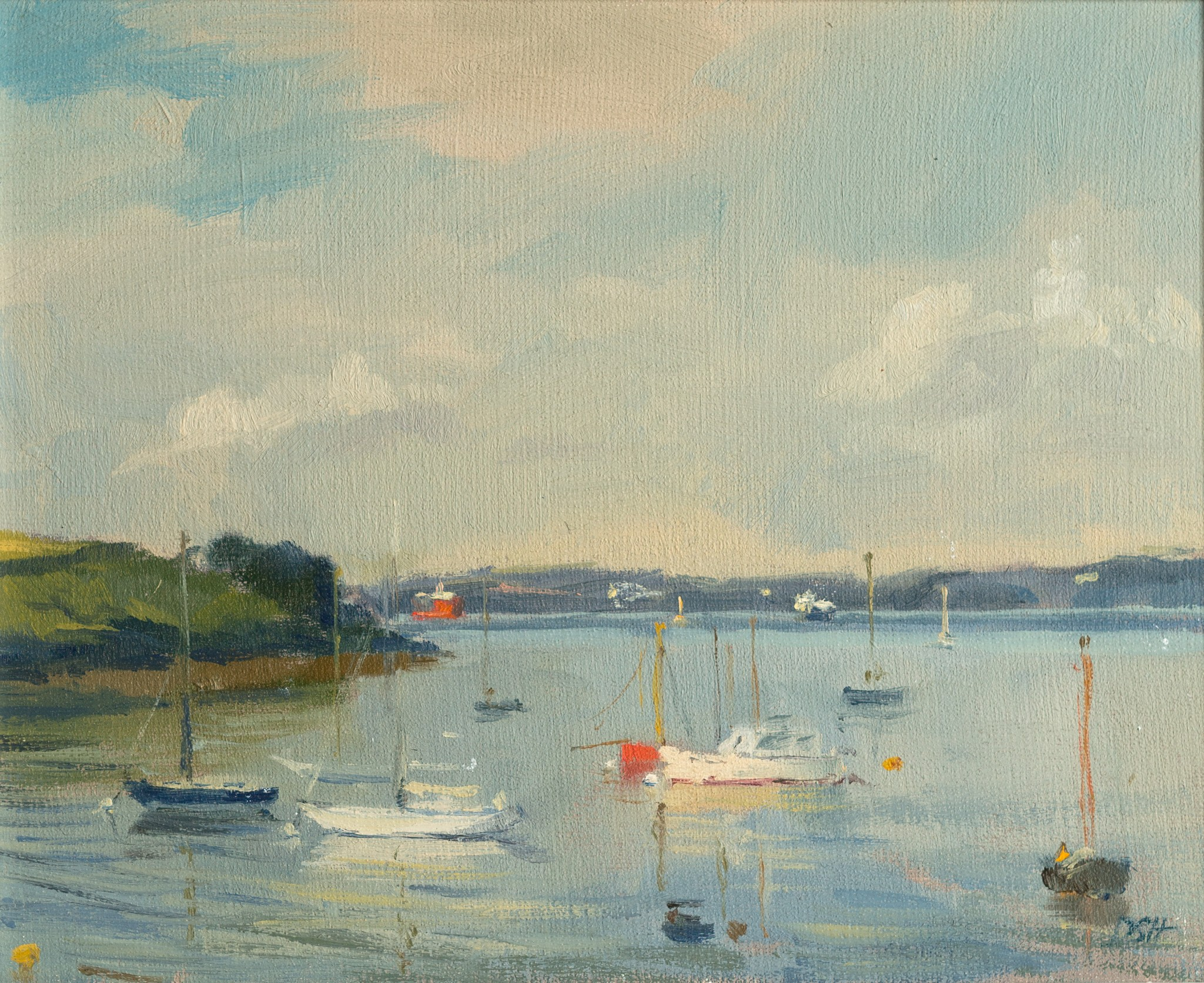 Early Morning Light, St Mawes