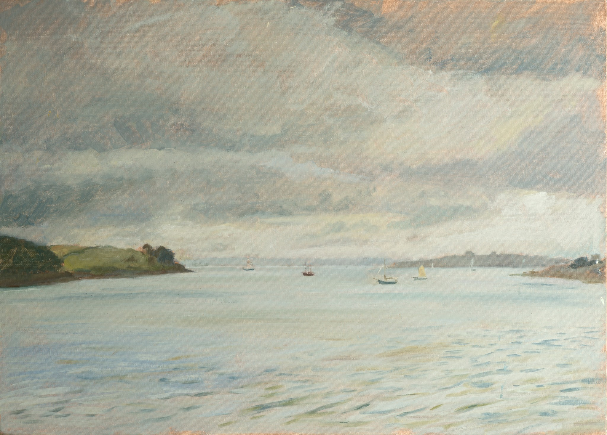 A Calm and Misty Day in St Mawes