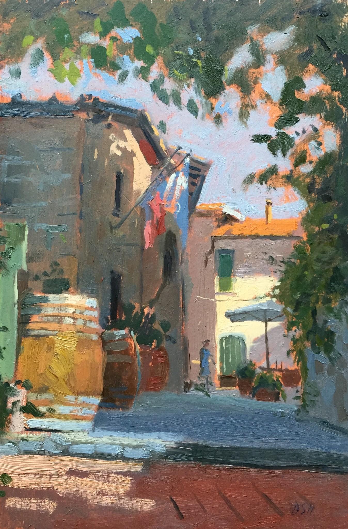 Afternoon Light, Panzano in Chianti