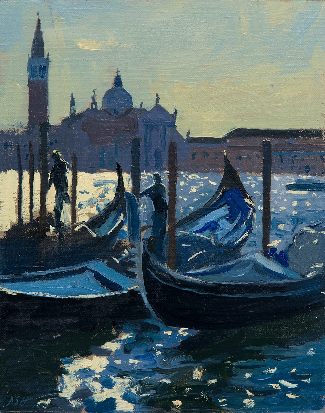 Early Contre-Jour, San Giorgio