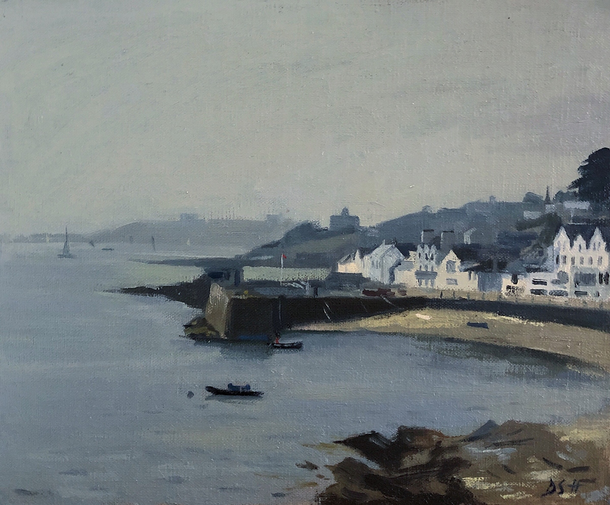 Misty day, St Mawes