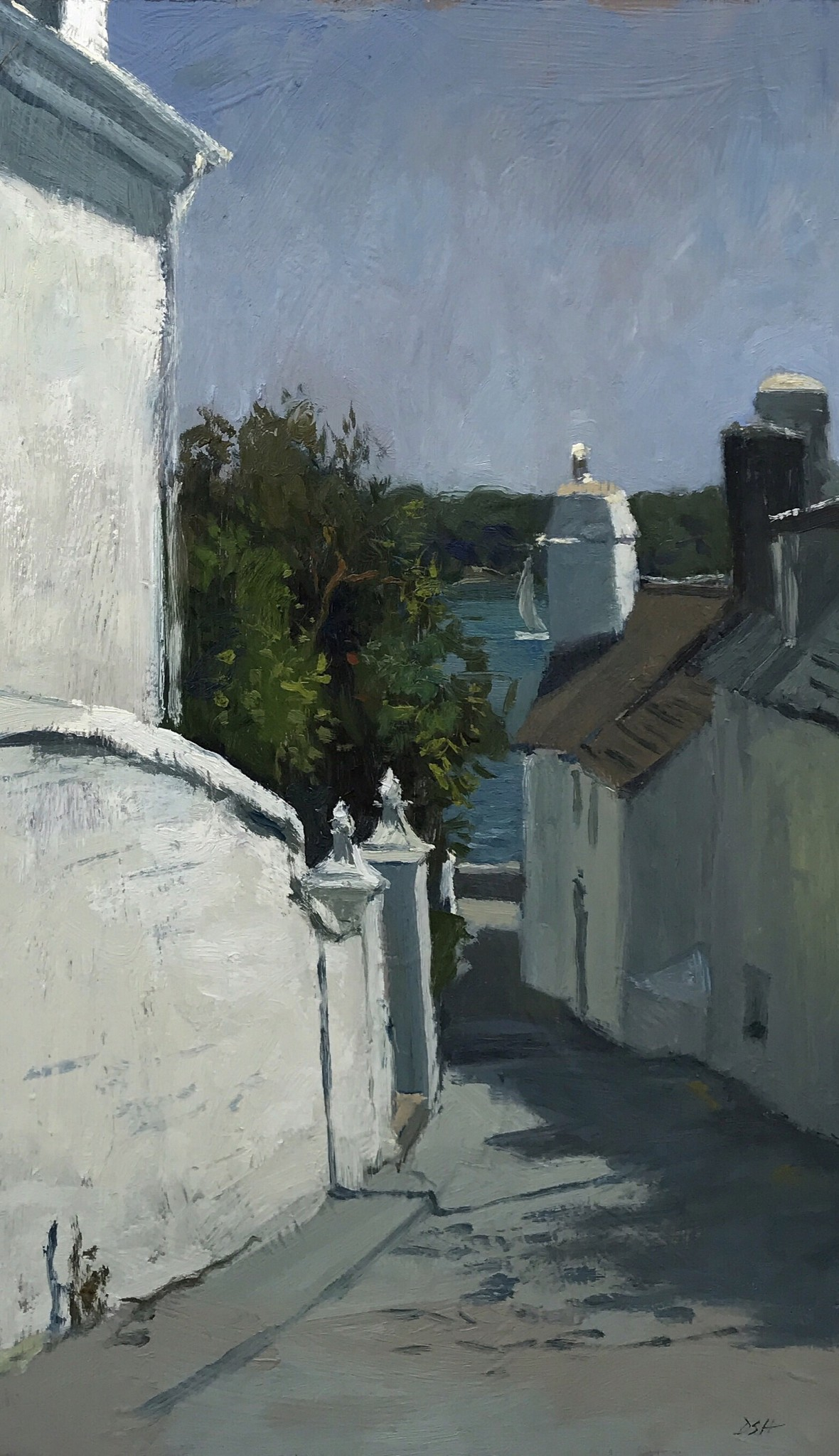 Below the Church in St Mawes