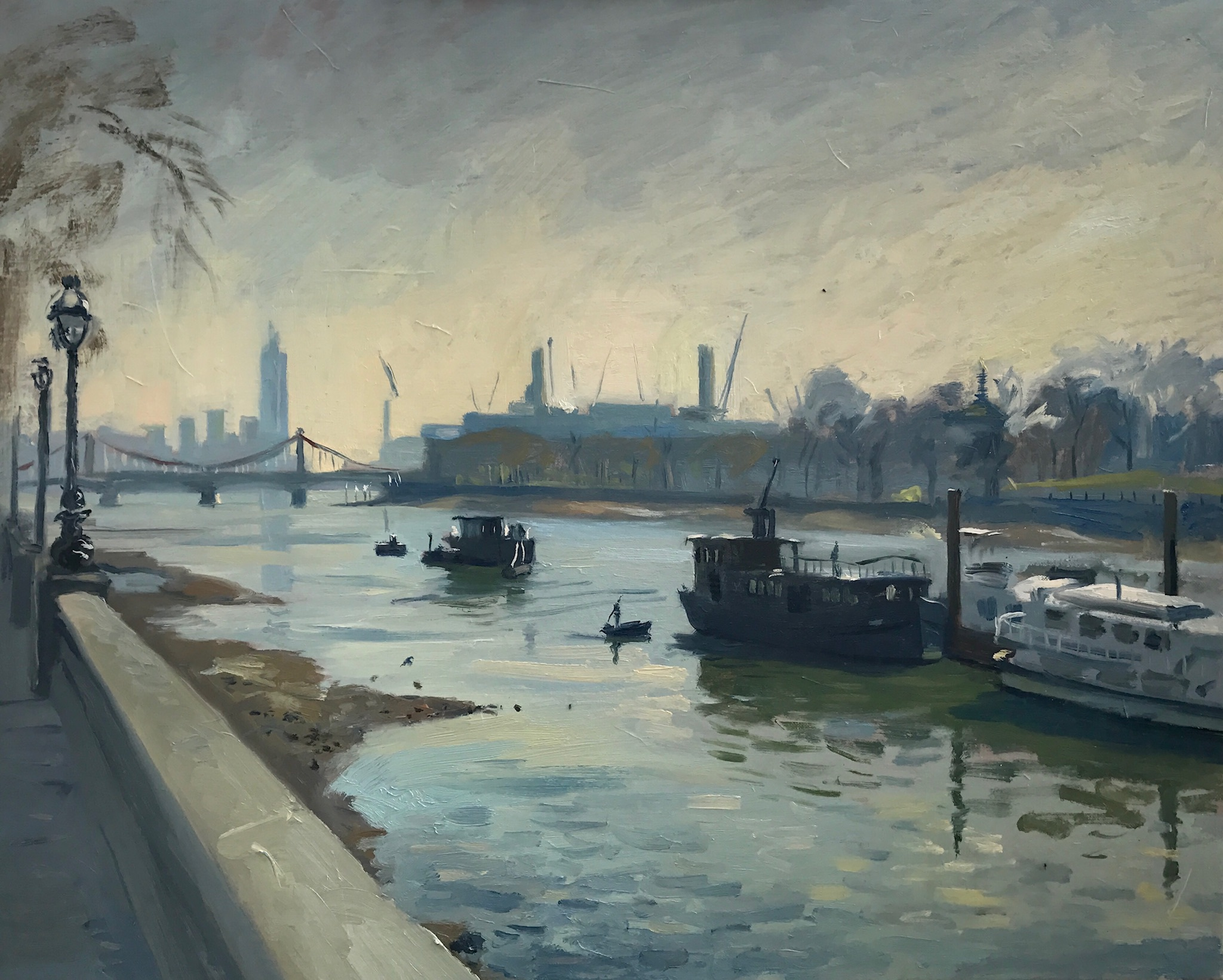 Early Light, Chelsea Embankment