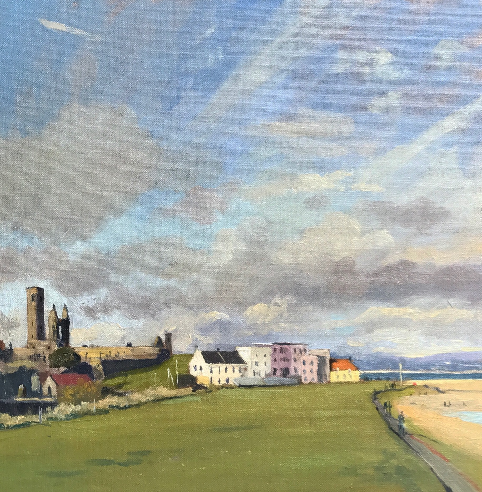 St Andrews afternoon light