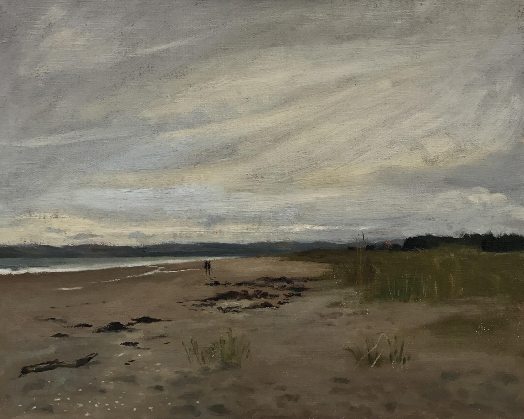 Evening light at Tentsmuir beach