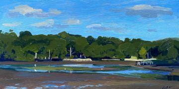The Beaulieu river, low tide