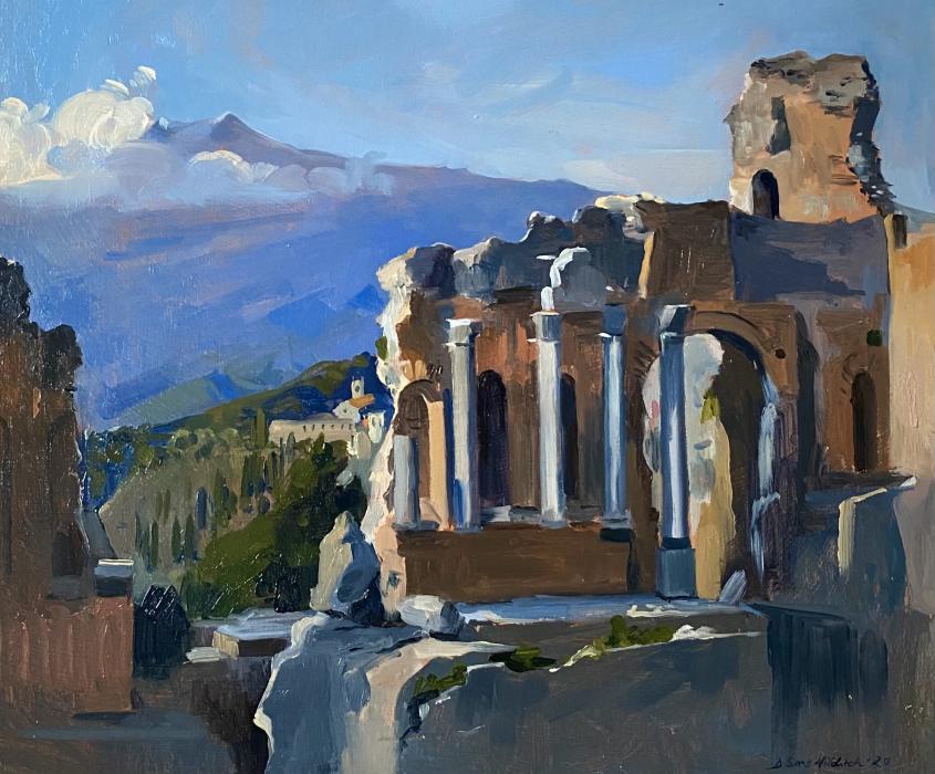 The Greek Amphitheater, Taormina