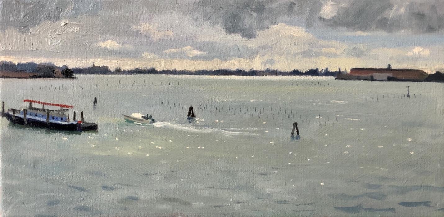 Stormy light on the Venetian Lagoon