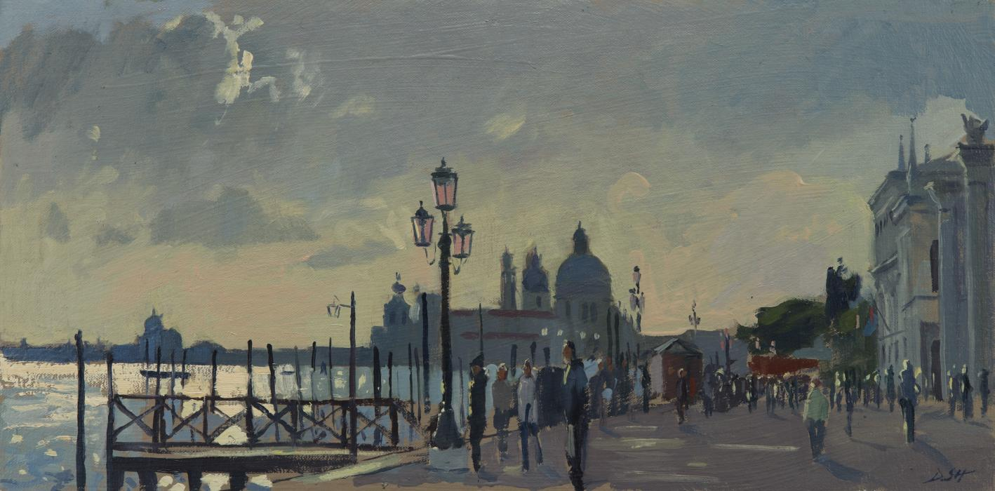 Towards the Salute from San Marco, Stormy Light
