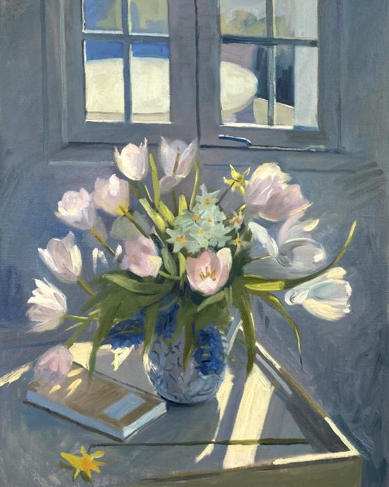 Spring Bouquet In the Summer House